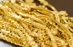 Bunch of gold Royalty Free Stock Photo