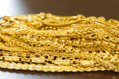 Bunch of gold Royalty Free Stock Image