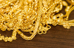 Bunch of gold Stock Photo