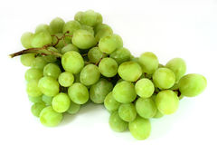 A bunch of Grapes. On white background stock image