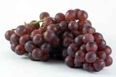 Bunch of Grapes. A bunch of red grapes Royalty Free Stock Image