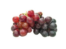 Bunch of grapes. Delicious bunch of red grapes Stock Images