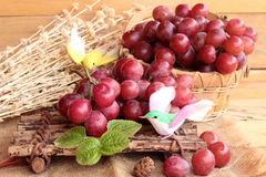 Bunch of grapes fruit  juicy fresh delicious. Stock Photography