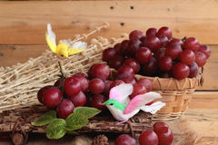 Bunch of grapes fruit  juicy fresh delicious. Stock Photo