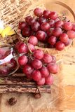 Bunch of grapes fruit  juicy fresh delicious. Royalty Free Stock Image