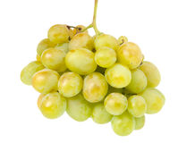 Bunch of grapes isolated Stock Photos