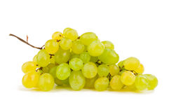 Bunch of grapes. Grapes isolated on white background Stock Images