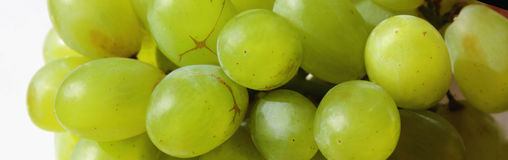 Bunch of grapes on a light background Stock Photo