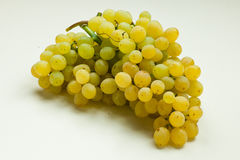 Bunch of grapes. Resting on a light background Stock Photo