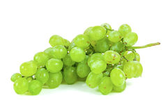 Bunch of grapes on white background Royalty Free Stock Photography