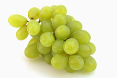 Bunch of grapes on a white background Stock Photos