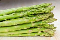 Bunch of green asparagus Stock Photos