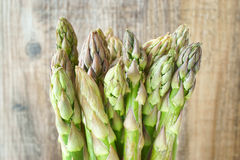 Bunch of green asparagus Royalty Free Stock Photo