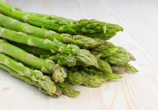 A bunch of green asparagus Stock Images