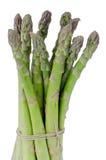 Bunch of green aspargus Stock Photos