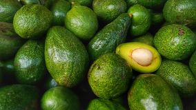 Bunch of Green Avocados Royalty Free Stock Photography