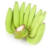 Bunch of green bananas Royalty Free Stock Photography