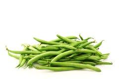 Bunch of green beans Stock Photos