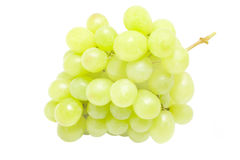 A bunch of green grape Royalty Free Stock Images