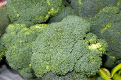 A bunch of green vegetables Royalty Free Stock Images