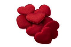 Bunch of hearts for Valentines Day Royalty Free Stock Photo