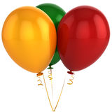 Bunch of helium balloons (Hi-Res) Royalty Free Stock Images