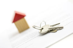 Bunch of house keys Stock Photography