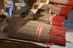 Bunch of incense sticks Royalty Free Stock Photography