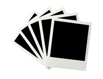 Bunch of Instant Images Stock Photography