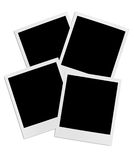 Bunch of instant photo frames Royalty Free Stock Image