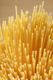 Bunch of italian spaghetti Stock Photos
