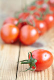 Bunch of juicy tomatoes Stock Photo