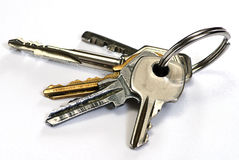 Bunch key Stock Image