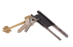 Bunch of keys Royalty Free Stock Images