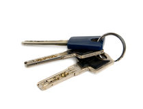 Bunch of keys. Royalty Free Stock Images