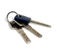 Bunch of keys. Royalty Free Stock Photo