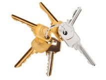 Bunch of keys Stock Photography