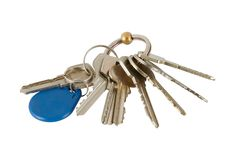 Bunch of keys Stock Photo