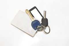 A bunch of keys Royalty Free Stock Images