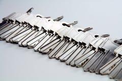 Bunch keys.  royalty free stock photos