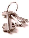 Bunch of keys Royalty Free Stock Photo