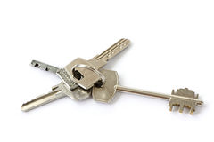 Bunch of keys Royalty Free Stock Photography