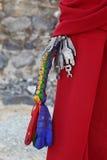 Bunch of keys in old Tibetan style Stock Photo