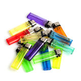 A bunch of lighters Royalty Free Stock Image