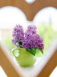 Bunch of lilac flowers Stock Image