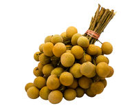 A bunch of Longan Stock Photography