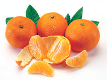 Bunch of Mandarin Oranges Stock Images