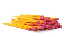 Bunch of matches Royalty Free Stock Images
