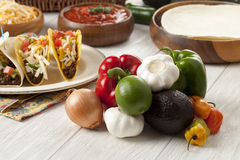 Bunch of mexican vegetables Stock Images