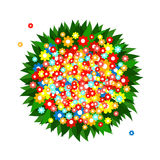 Bunch of multicolored flowers Royalty Free Stock Photos